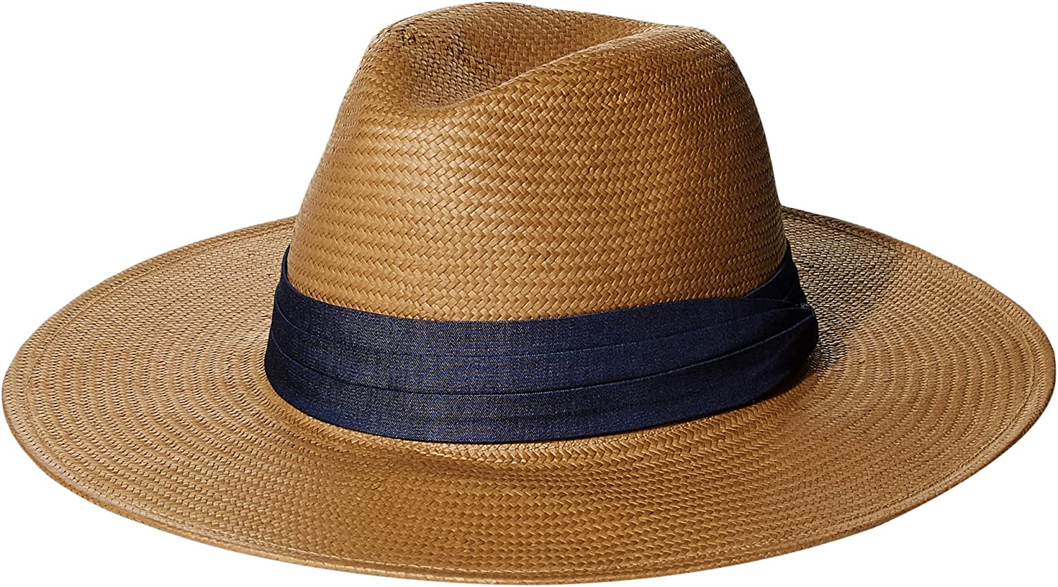 'ale by alessandra Havana Panama Sunhat Packable, Adjustable UPF Rated