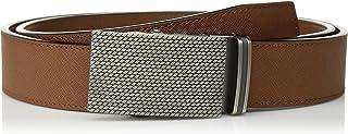 حزام ساكت Stacy Adams Men's Payton 35 مم، بني اللون، 46