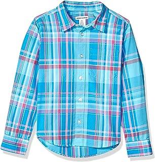 Boys' Long-Sleeve Poplin/Chambray Shirt