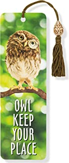 Owl Keep Your Place Beaded Bookmark
