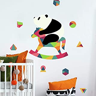 Andy Westface Panda Nursery Peel and Stick Giant Wall Decals