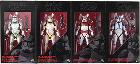 Star Wars Figura de acción de Soldados clon de la Orden 66, 15 cm