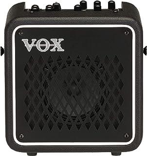 VOX エレクトリック・ギター用 3W モデリング・アンプ MINI GO 3 自宅練習 持ち運び マイク入力 ヘッドホン出力 エフェクト リズム・マシン MP3接続 モバイル・バッテリー対応