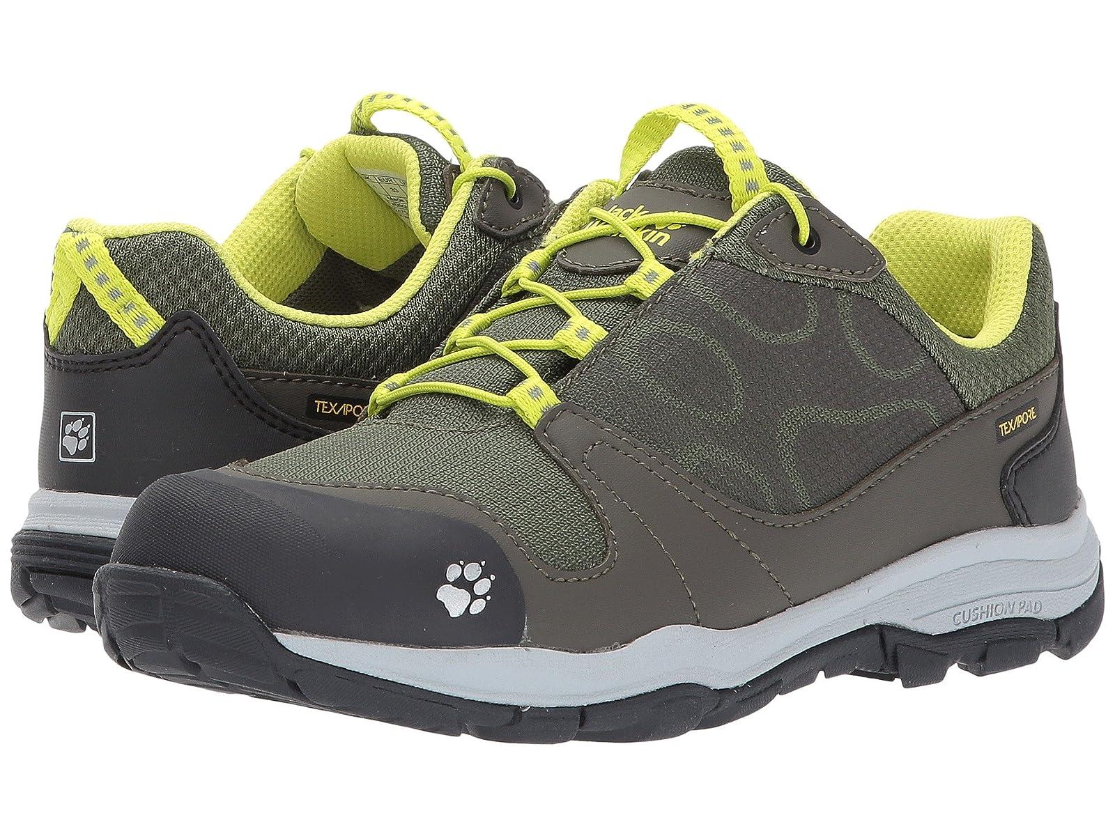 Jack Wolfskin Kids Akka Waterproof Low (Toddler/Little Kid/Big Kid)Atmospheric grades have affordable shoes
