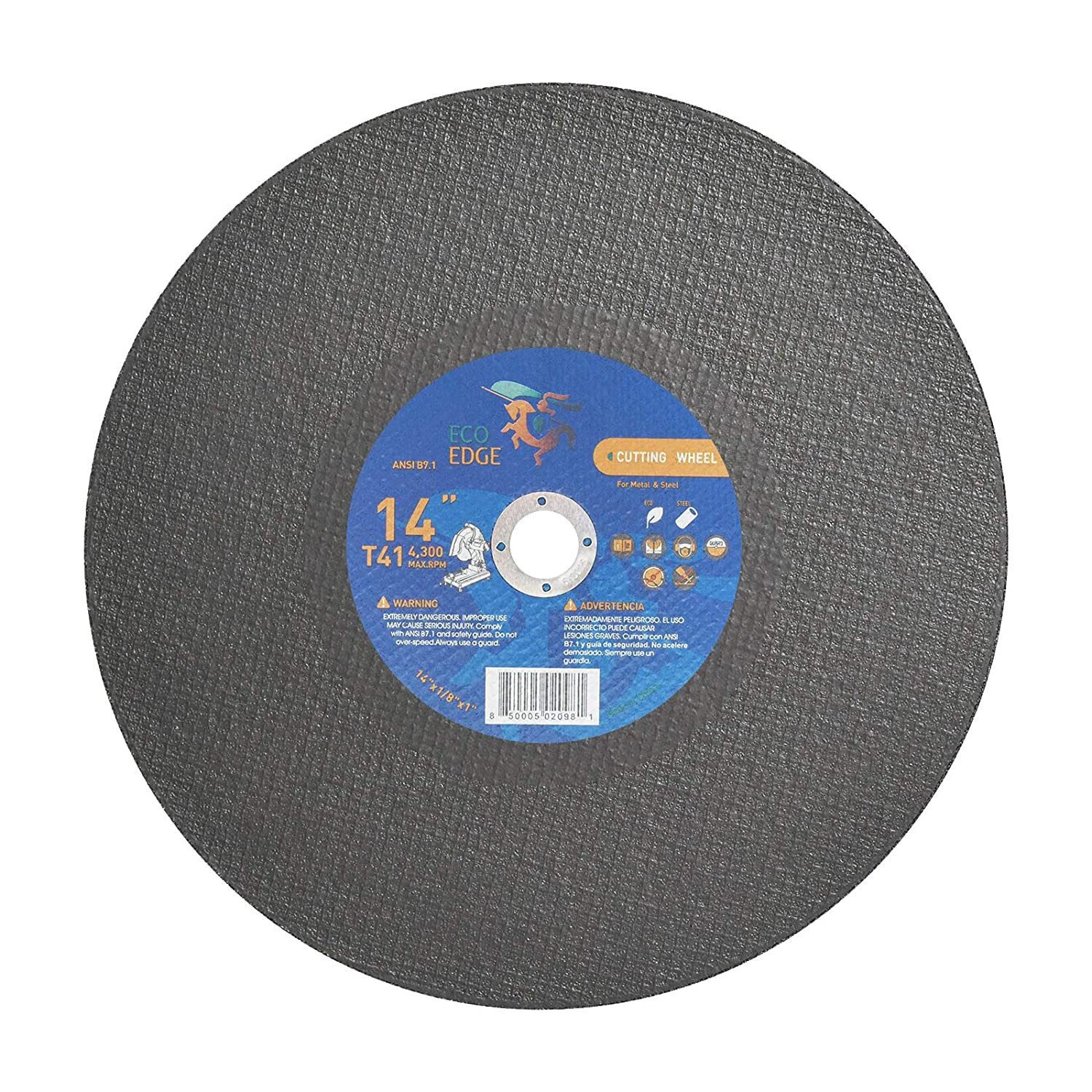 Eco New Orleans Mall Edge 10-Pack 14-Inch Cut Off for Saw Phoenix Mall Wheels Chop Blade 14