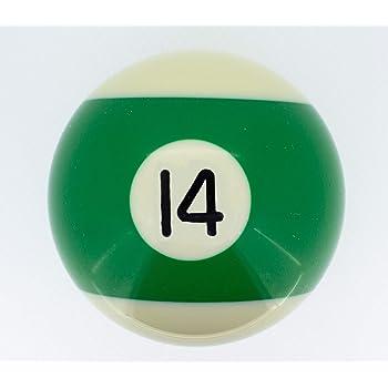 Premiergames - Bolas de billar (57,2 mm), Nr. 14, 57,2mm: Amazon ...