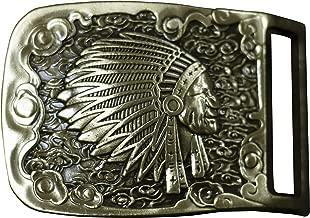 Best solid brass indian head belt buckle Reviews