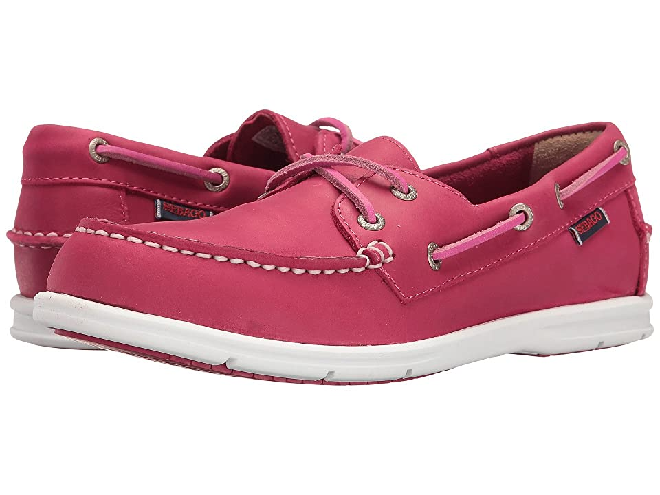 Sebago Liteside Two Eye (Dark Pink Leather) Women