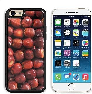 MSD Premium Apple iPhone 6 iPhone 6S Aluminum Backplate Bumper Snap Case Snake Fruit Apel Apple Fruit Red Image 802986