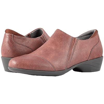 SoftWalk Charming (Burgundy Weathered Leather) Women