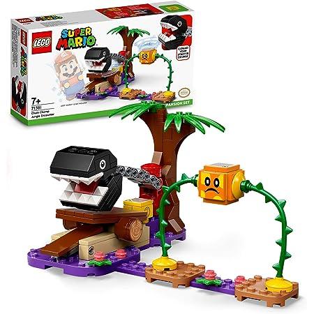 LEGO Super Mario Incontro nella Giungla di Categnaccio - Pack di Espansione, Gioco Costruibile con Figura di Pungipalla, 71381
