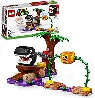 LEGO71381SuperMarioChainChompJungleOntmoetingUitbreidingsset,BouwbaarSpelmetBramball-Figuur