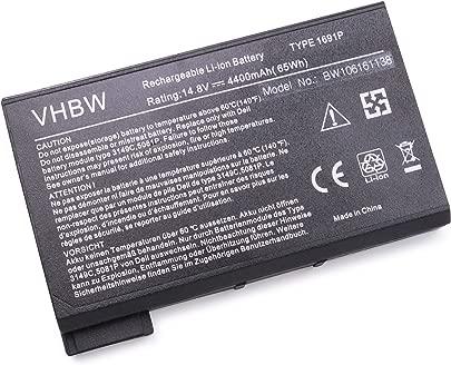 vhbw Akku passend f r Dell Inspiron 4150 8000 8100 8200 Laptop Notebook Li-Ion 4400mAh 14 8V 65 12Wh schwarz Schätzpreis : 39,87 €