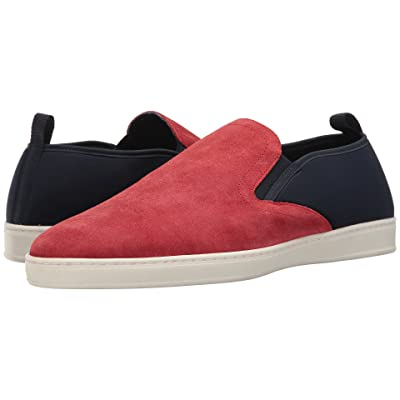 PARC City Boot Pier (Red Suede/Navy) Men