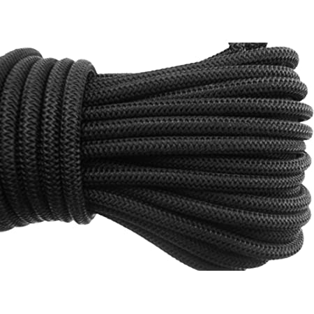 10m x 8mm Elasticated Rope//Bungee Shock Cord for Tying Down Tarpaulins and Other General Use