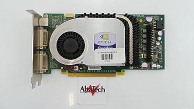 NVidia R8961 Quadro FX3400 PCI-E Dual DVI High Profile 256MB Installed Video Memory Video Graphics Card, Compatible Dell P...