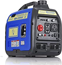 Hudson Motors 3300-Watt Super Quiet Portable Inverter Generator, Gas Powered, EPA Compliant, Eco-Mode Feature, Ultra Light...