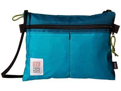 Topo Designs Accessory Shoulder Bag (Turquoise) Bags
