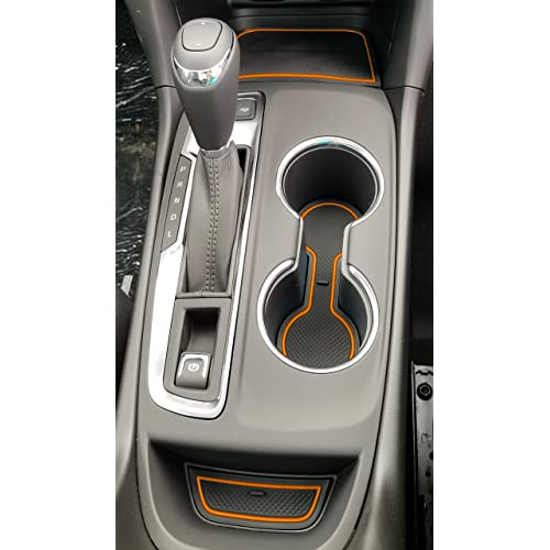 Custom Fit Cup and Door Compartment Liner Accessories for 2018 2019 2020 Chevy Equinox 12-