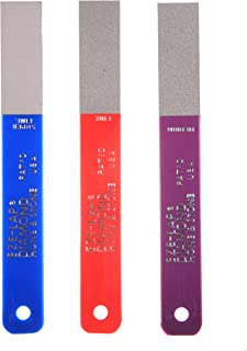 EZE-LAP L PAK Set SF/F/M Color Coded Diamond Hones