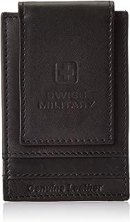 Swiss Military Leather Black Men's Wallet (LW35)
