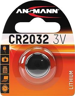 ANSMANN CR2032 Batterie Lithium Knopfzelle 3V / Qualitativ hochwertige Knopfbatterien / Ideal für Autoschlüssel, TAN Gerät, Taschenrechner, Kinderspielzeug, Fernbedienung, Uhren, etc.
