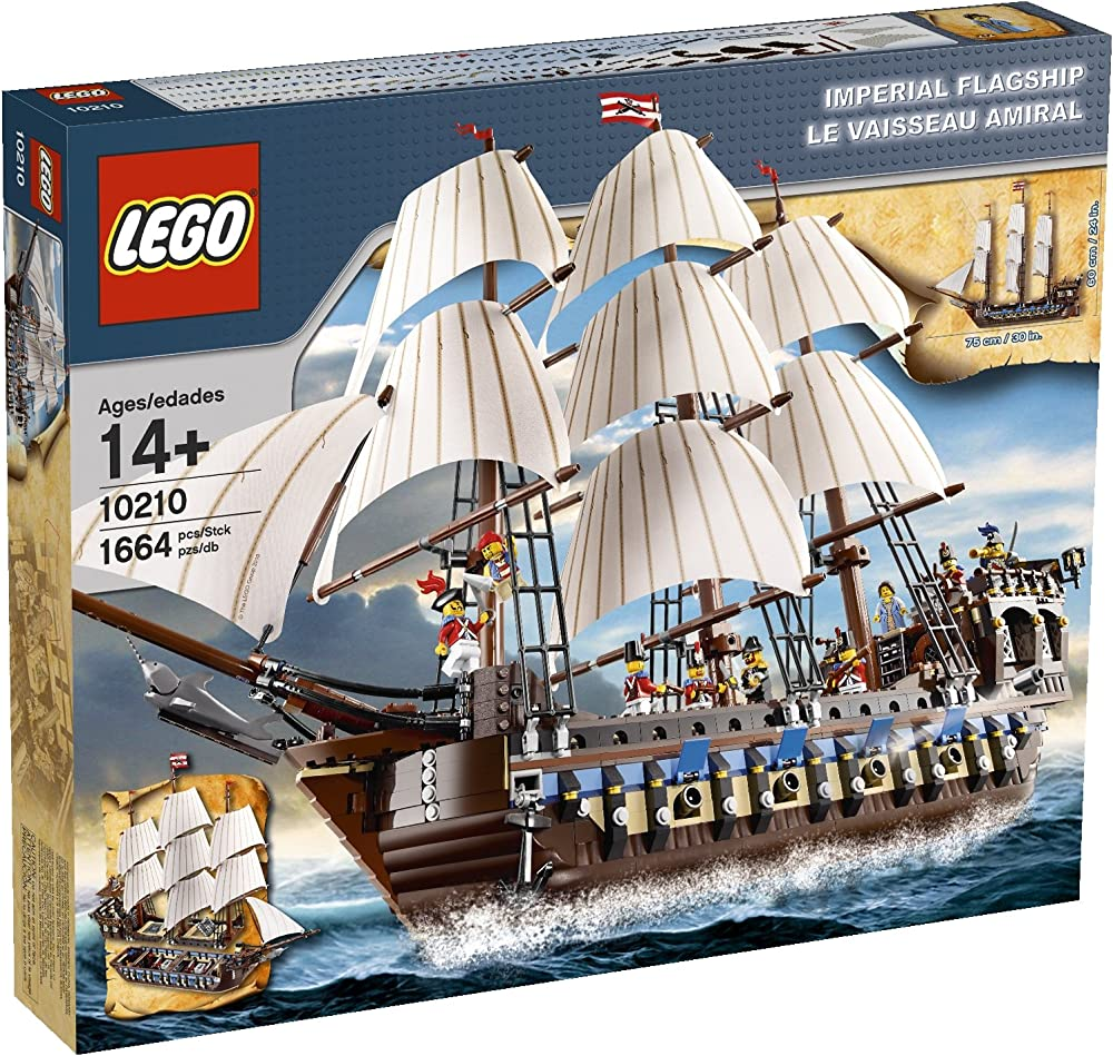 Lego speciale collezionisti imperial flagship 4559640