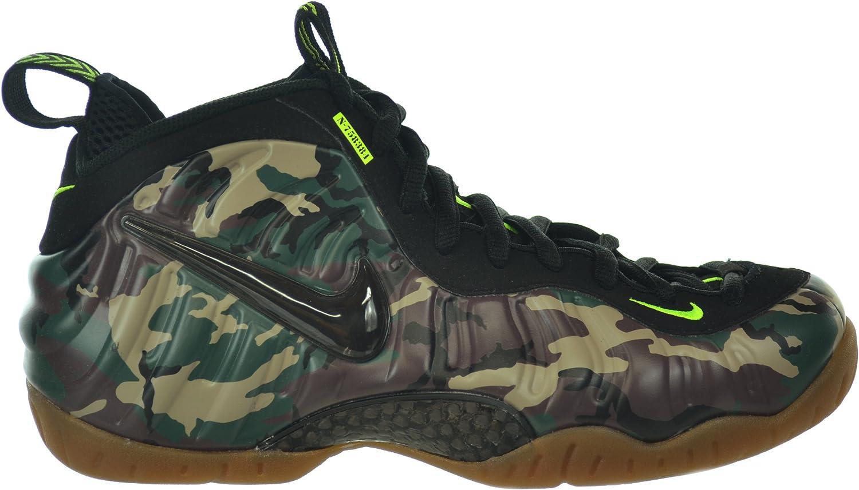 Nike Air Foamposite Pro PRM LE  Camo  Men's Basketball shoes Forest Black