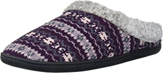 Women's Sweater Knit Clog with Memory Foam Slipper