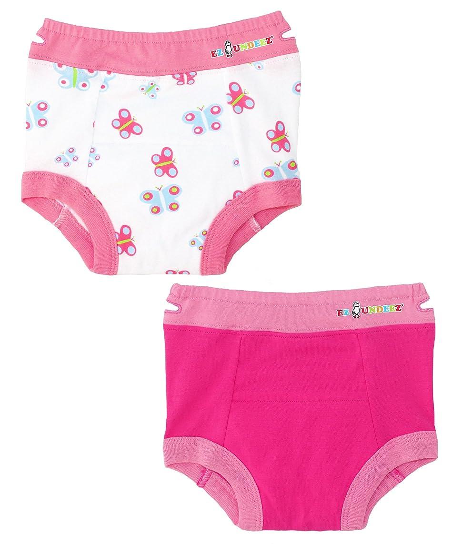 Ez Undeez Toddler Underwear Girls Padded Potty Training Pants Easy Pull Ups