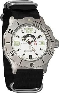 Vostok Komandirskie K-35 Mechanical AUTO Self-Winding Mens Military Wrist Watch #350606