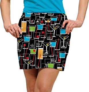 Fun Bright Colorful John Daly Happy Hour StretchTech Women's Skort