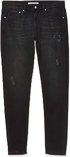 Calvin Klein Jeans Men's 058 Slim Taper Denim Pants Color: Blue Size: L34/W34