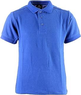 Unisex Kid's Short Sleeve School Uniform Pique Polo