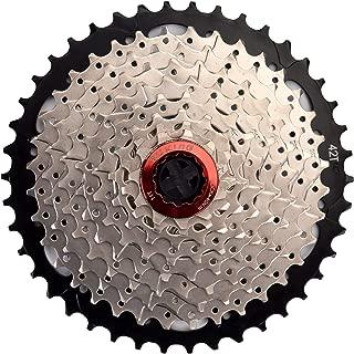 CYSKY 9 Speed Cassette 9Speed 11-42 Cassette Fit for Mountain Bike, Road Bicycle, MTB, BMX, Sram Sunrace Shimano ultegra xt (Light Weight)