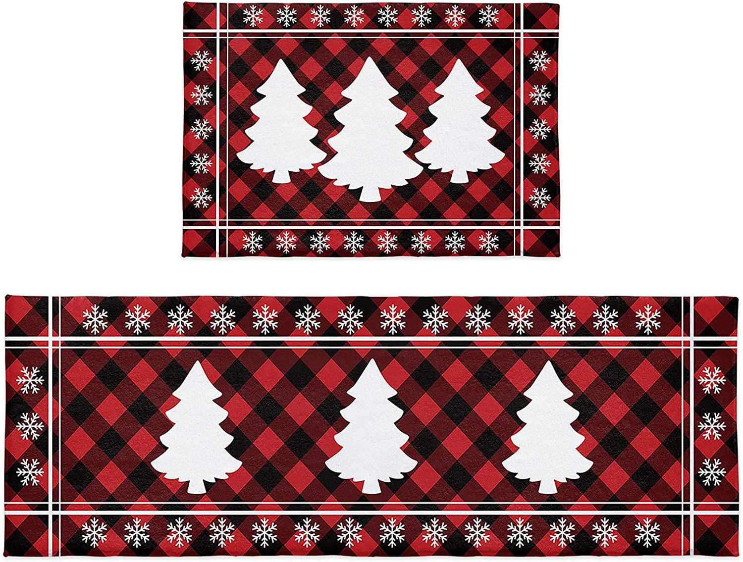 Cloud Dream Home Kitchen Translated Rug Sets Merry Piece Columbus Mall 2 Christmas Tree S