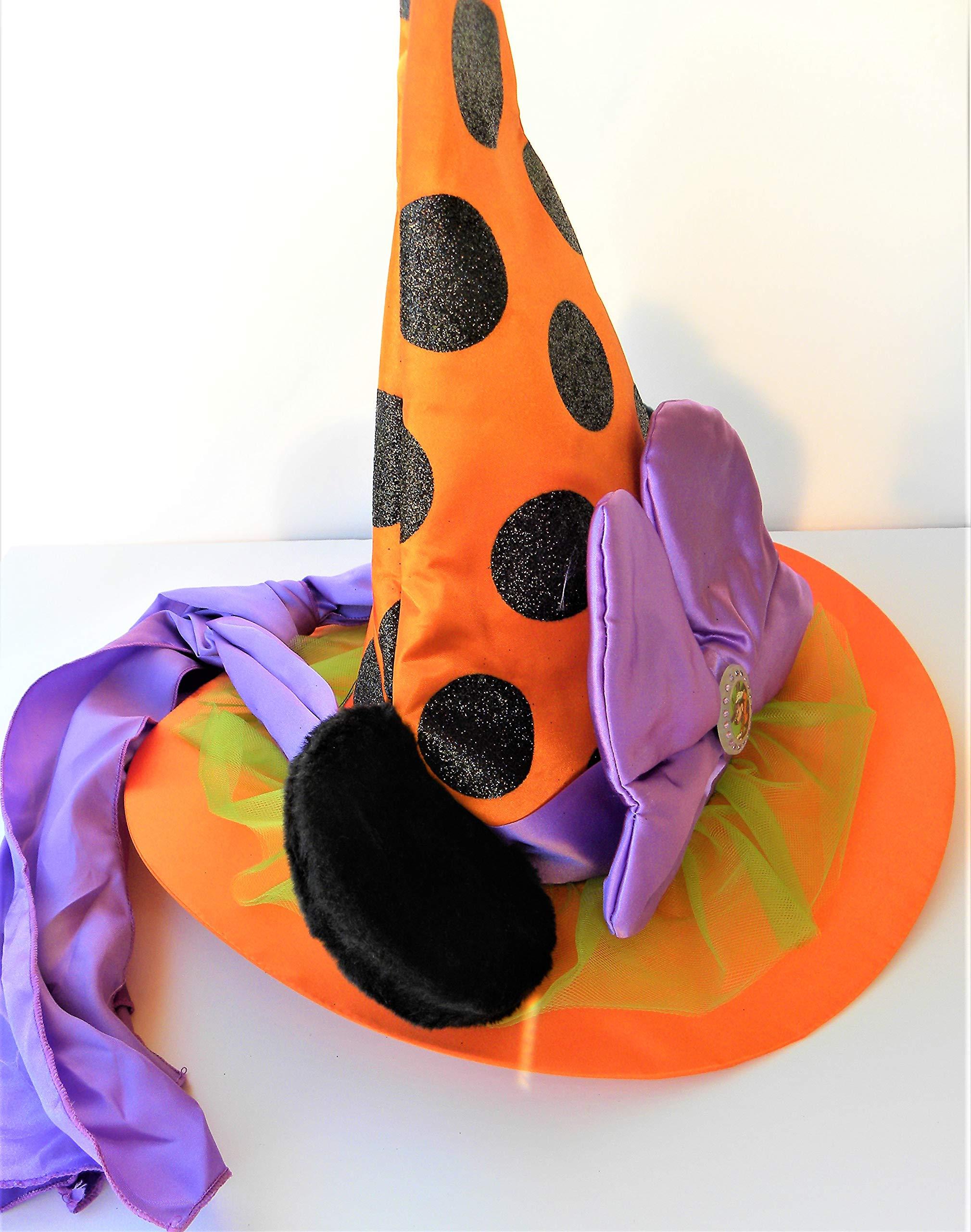 Disney adorno de Halloween Bruja Sombrero Gorro de orejas de ...