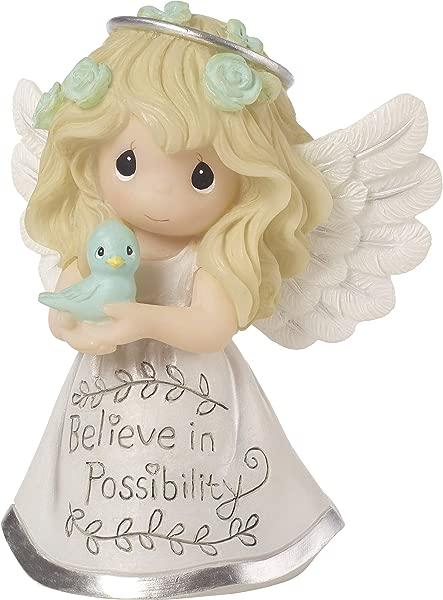 珍贵的时刻励志天使相信可能性树脂 183440 公仔一个尺寸多