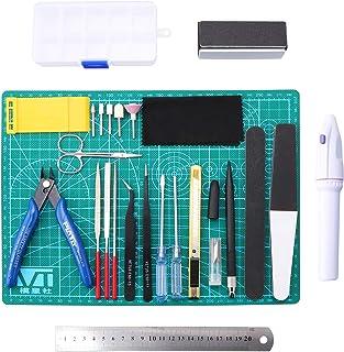 WiMas 26PCS Gundam Modèle Outils Kit, Hobby Building Craft Set pour la Construction du modèle de Base réparation et la Fix...