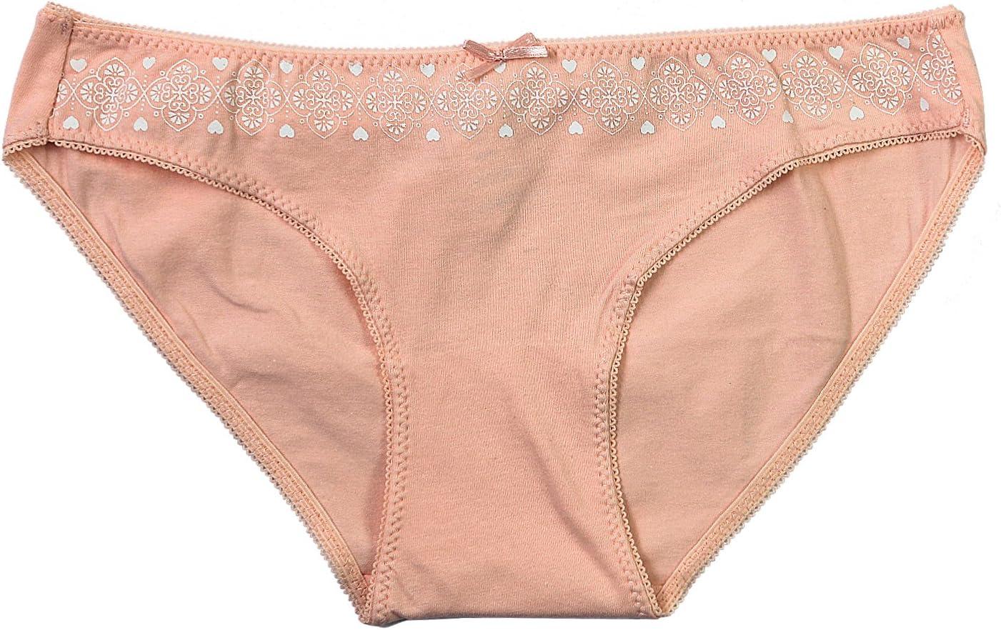 Confezione da 6 Colori ABClothing Underwear Bikini in Cotone a Vita Bassa Donna
