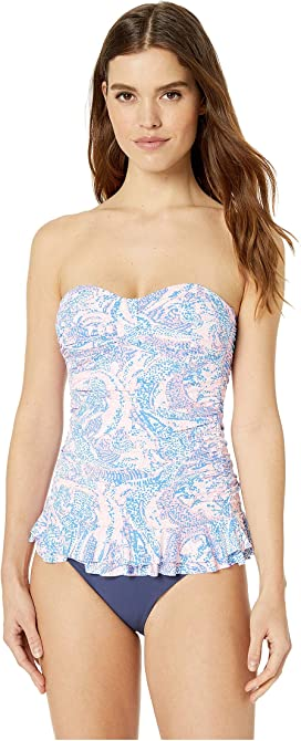 6c9369a9b96010 Lilly Pulitzer Womens Belize Tankini Top Women Clothing & Accessories