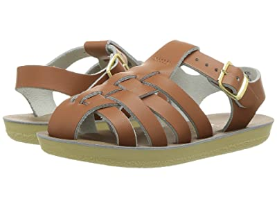 Salt Water Sandal by Hoy Shoes Sun-San Sailors (Toddler/Little Kid) (Tan) Kids Shoes
