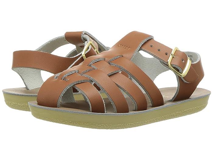 Salt Water Sandal by Hoy Shoes  Sun-San - Sailors (Toddler/Little Kid) (Tan) Kids Shoes