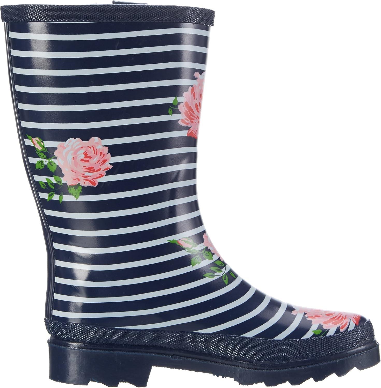 Beck Womens Stripes Wellington Boots