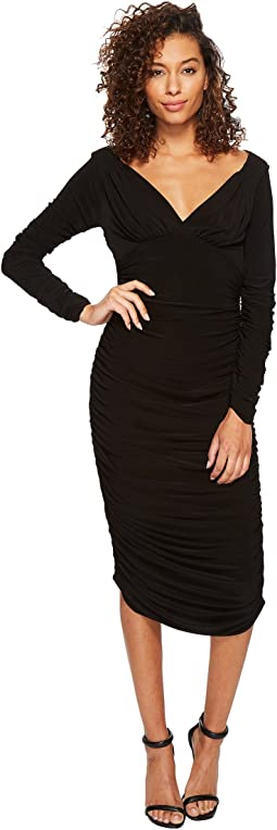 KAMALIKULTURE by Norma Kamali - Long Sleeve Tara Dress