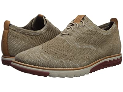 Hush Puppies Expert Wing Tip Knit (Taupe Multi) Men