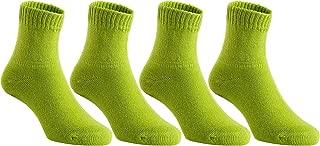 lime green baby socks