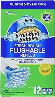 Scrubbing Bubbles Fresh Brush Flushable Refills, 12 CT