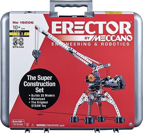 precios bajos todos los dias Meccano-Erector - Super Construction Construction Construction Set, 25 Models, 640+ Parts by Spin Master by Spin Master  online al mejor precio