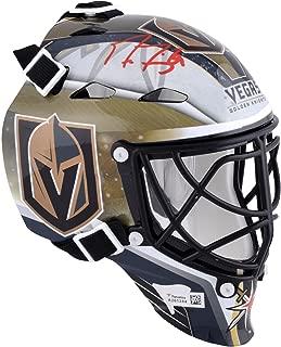 Marc-Andre Fleury Vegas Golden Knights Autographed Mini Goalie Mask - Fanatics Authentic Certified - Autographed NHL Mini Helmets and Masks